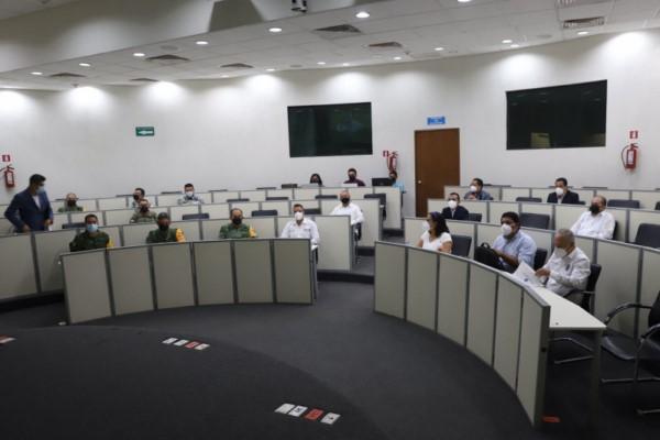 la Mesa de Seguridad sobre el proceso electoral.