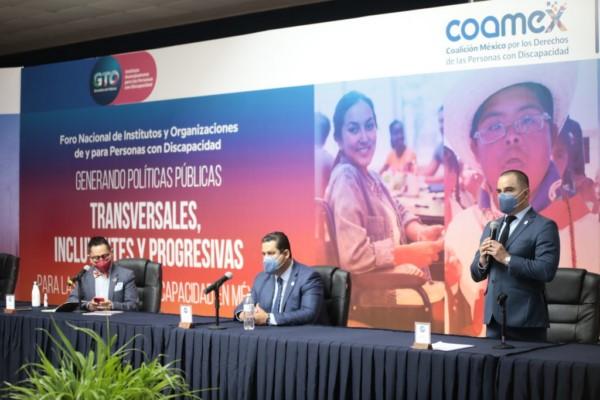 """""""Generado Políticas Públicas Transversales, Incluyentes y Progresivas para las Personas con Discapacidad en México""""."""