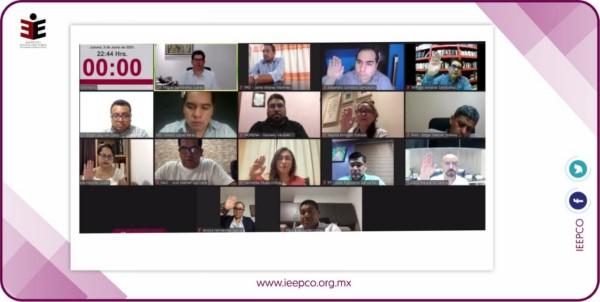 * Revoca IEEPCO determinación de CME de Oaxaca de Juárez respecto a plazos para entrega de paquetería electoral.