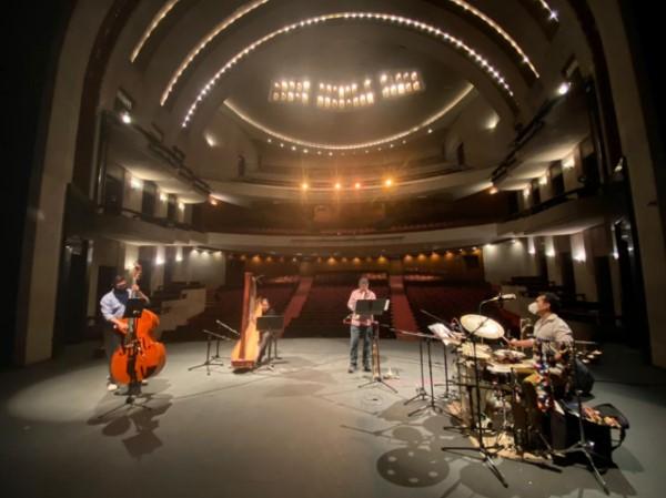 """ofrecerá """"Secundino Quartet"""" mediante Facebook Live del Teatro de la Paz, el domingo 13 de junio a las 20:00 horas."""