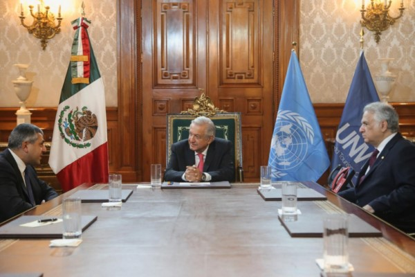 otorgó al Gobierno de México un reconocimiento por la política turística implementada durante la pandemia de COVID-19, informó el presidente Andrés Manuel López Obrador.