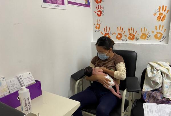 cinco lactarios hospitalarios en Cuernavaca, Temixco, Jojutla, Yautepec y Cuautla