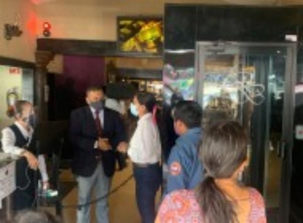 realizan recorrido en zonas de alta afluencia de visitantes en Cuernavaca