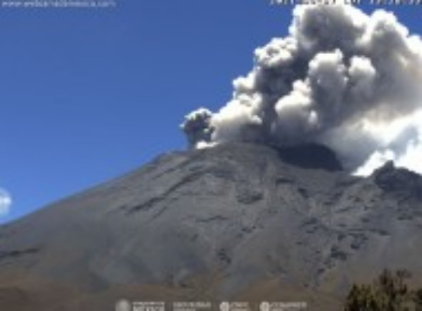 Monitoreo del volcán Popocatépetl
