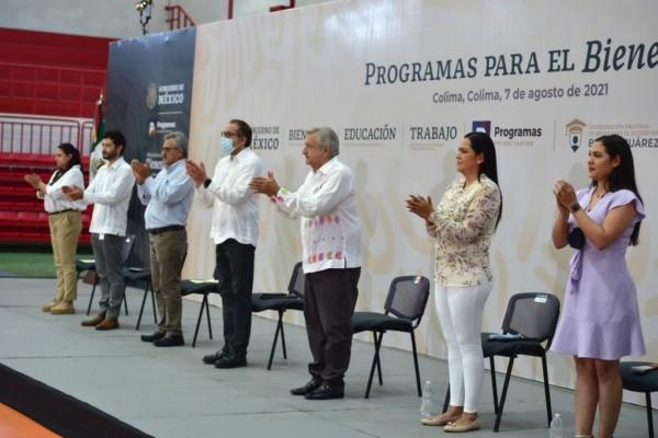 bienestar y la felicidad del pueblo de México es el propósito principal del gobierno que encabeza.