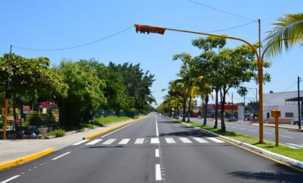 un gran avance en los trabajos de asfaltado, los cuales en los próximos días concluirán
