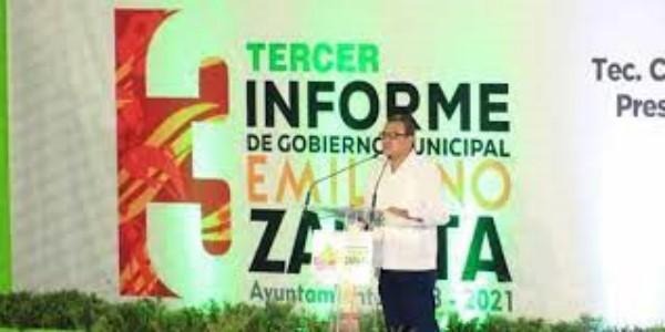 Agradece Pérez Jasso apoyo del Gobierno del Estado a favor del desarrollo de Emiliano Zapata