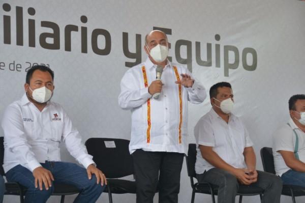 · El director general, Francisco Ángel Villarreal, realizó una gira de trabajo por esa zona del estado