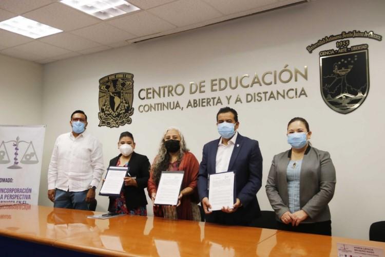· Signaron acuerdo marco de colaboración e iniciaron Diplomado